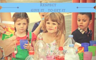 Respect voorleven als opvoedmiddel