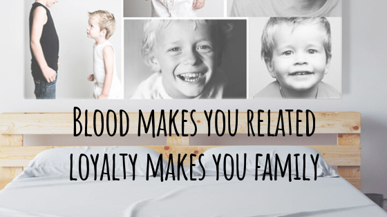 Familie wordt niet alleen door bloed bepaald